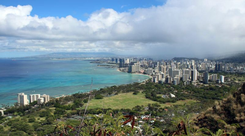 Oahu 381- Diamond Head Ausblick