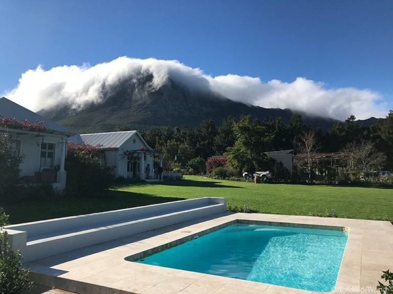 Südafrika 1757- Franschhoek, Cape Vue Country House