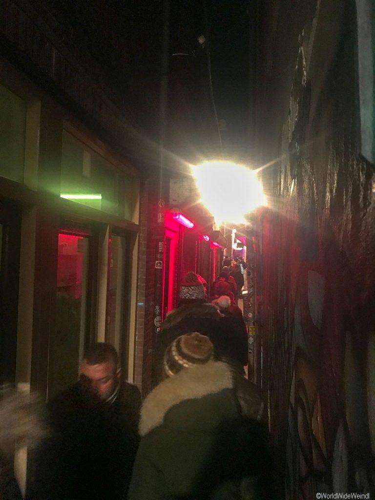 Niederlande, Amsterdam 44a-Rotlichviertel