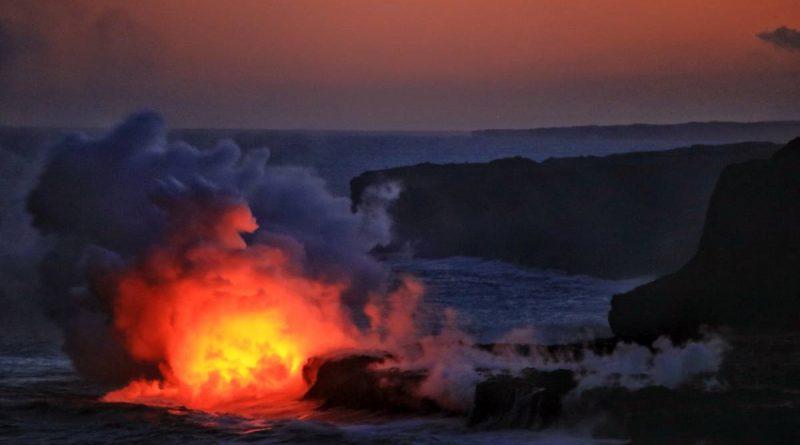 Big Island 440- Volcanos Nationalpark lava flow