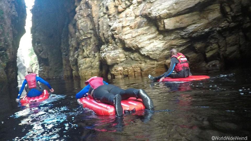 Südafrika 1399- Kajak & Lilo Adventures Tsitsikamma