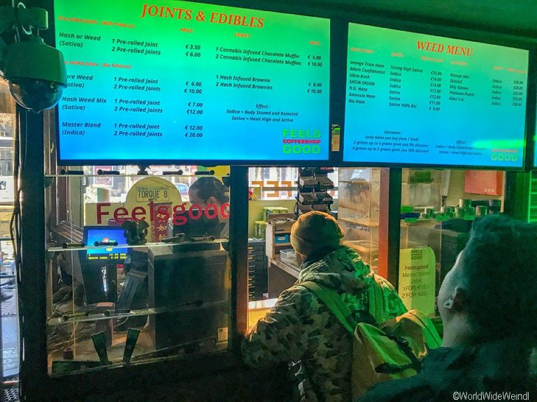Niederlande, Amsterdam 46-Rotlichviertel Coffee Shop