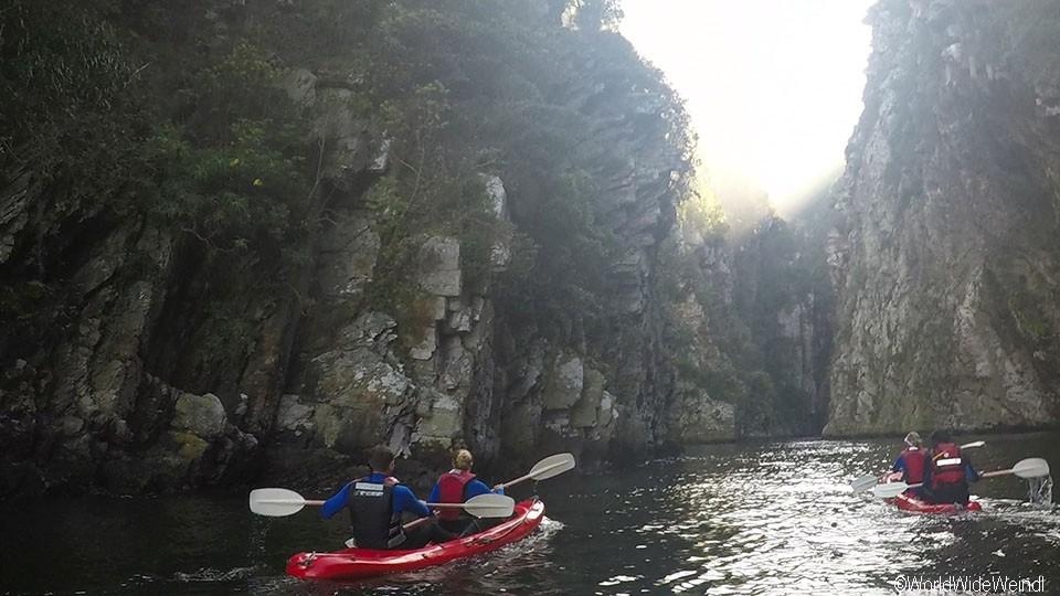 Südafrika 1391b- Kajak & Lilo Adventures Tsitsikamma