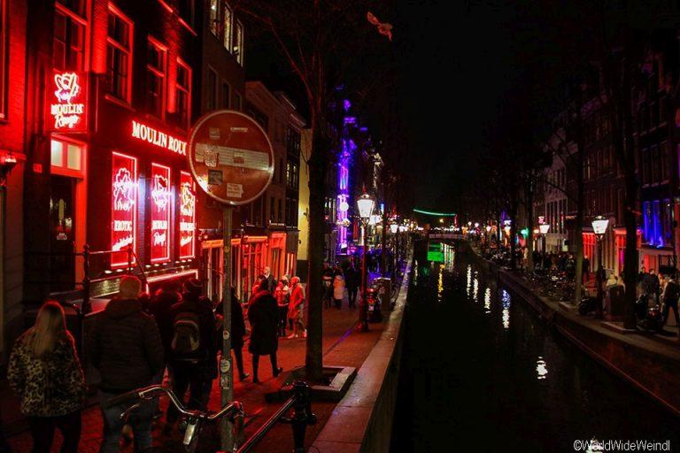 Niederlande, Amsterdam 42-Rotlichviertel, Moulin Rouge