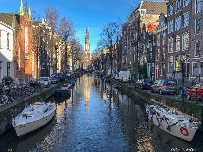 Niederlande, Amsterdam 126, Groenburgwal, Staalmeestersbrug