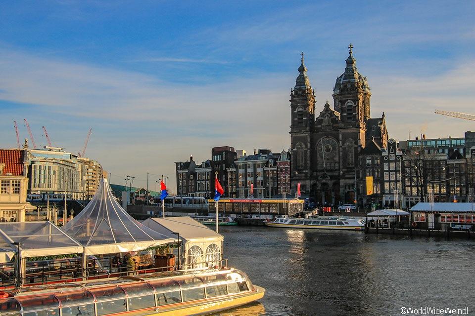 Niederlande, Amsterdam 100, Amsterdam Centraal, Basilika St. Nikolaus