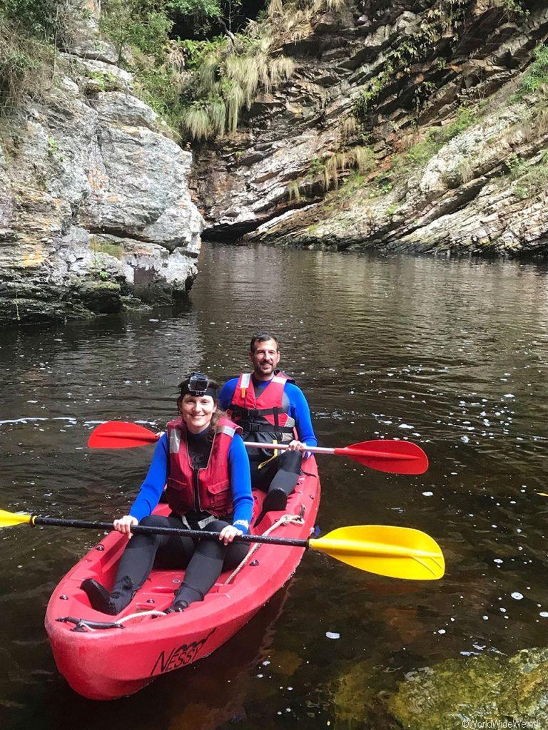 Südafrika 1396- Kajak & Lilo Adventures Tsitsikamma