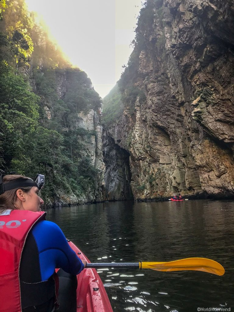 Südafrika 1393- Kajak & Lilo Adventures Tsitsikamma