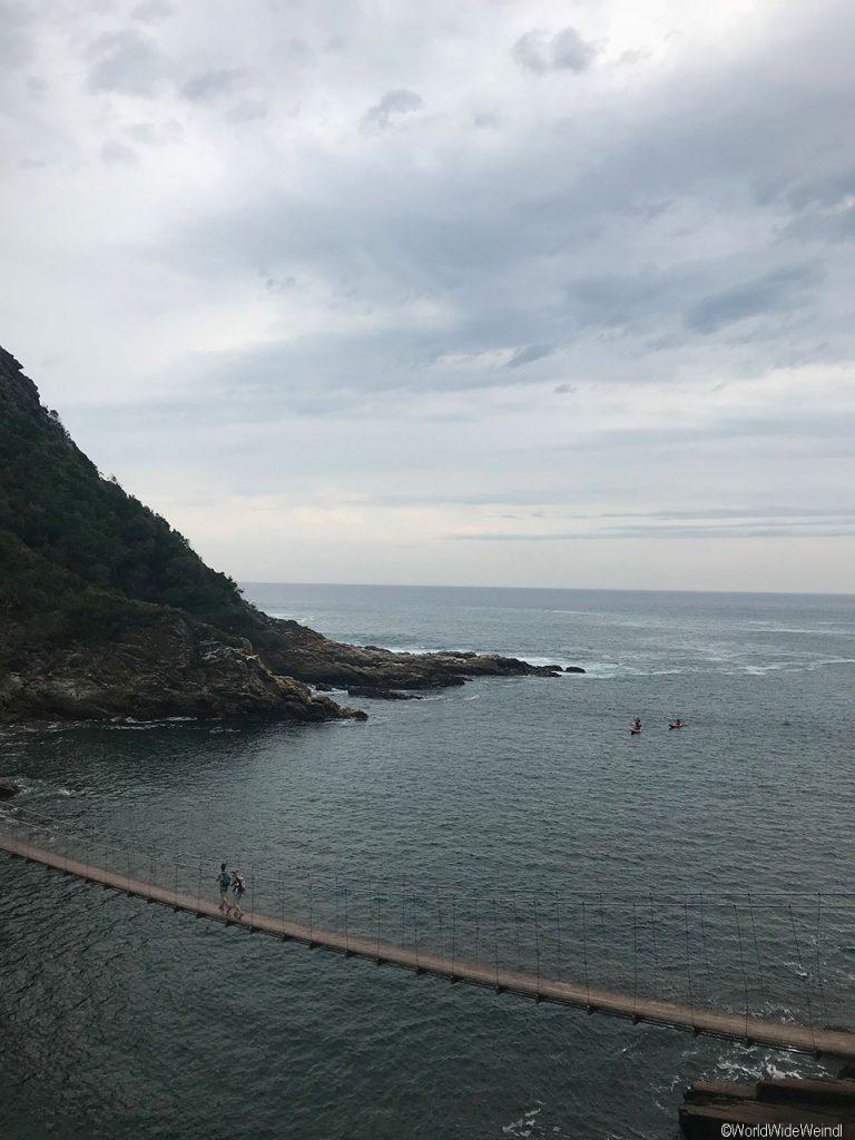 Südafrika 1357- Tsitsikamma National Park Suspension Bridge