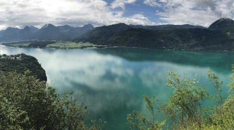 Schefelblick-Wolfgangsee- Wanderung nach St.Gilgen und aufs Zwölferhorn