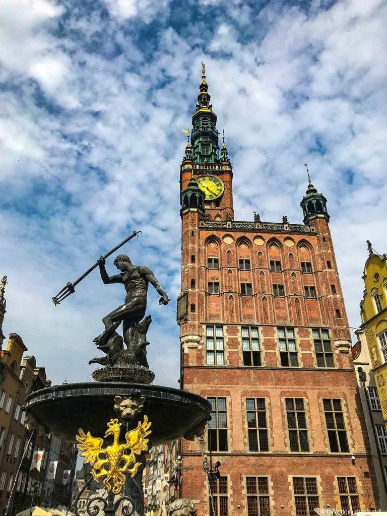 Danzig_Gdansk_13_Rechtstädtisches Rathaus ( Ratusz Głównego Miasta)