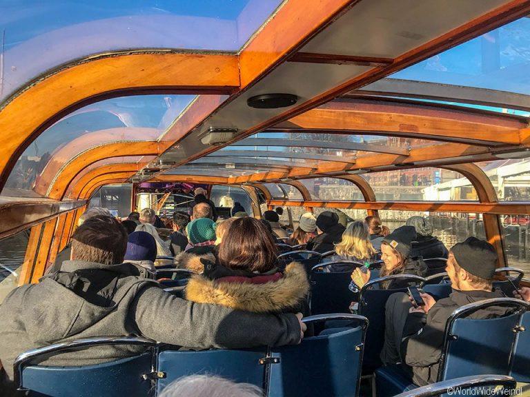 Niederlande, Amsterdam 75, Bootstour