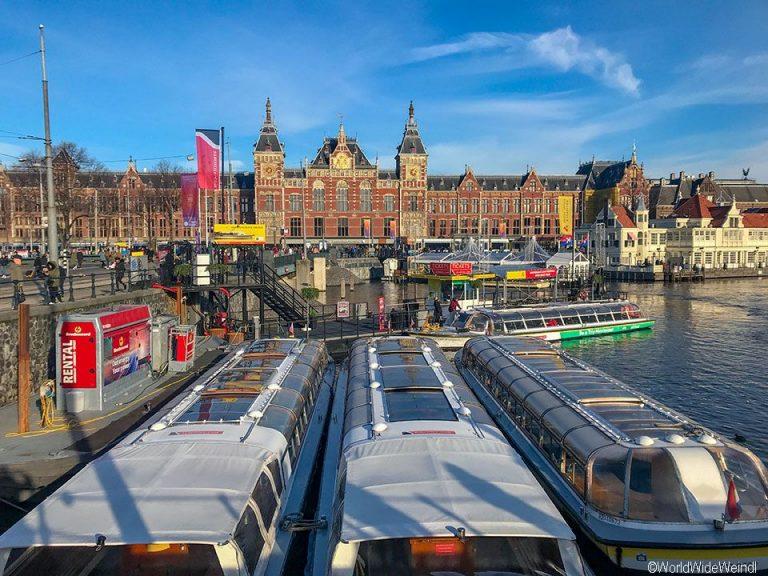 Niederlande, Amsterdam 90, Bootstour