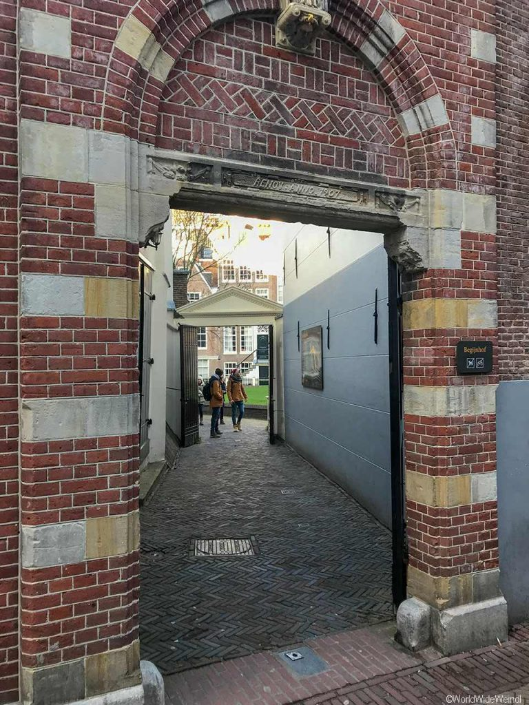 Niederlande, Amsterdam 190, Beginjnhof