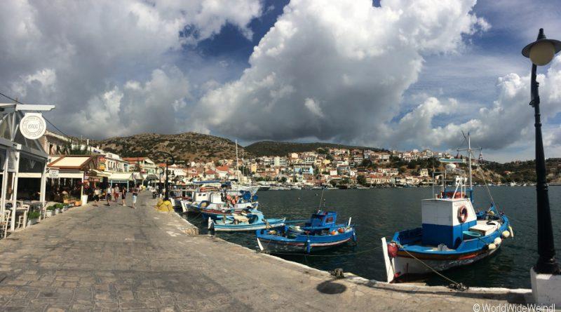 Griechenland, Samos, Hafen von Pythagorio