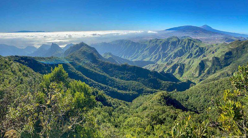 Teneriffa, Aussichtspunkt Mirador Pico del Inglés