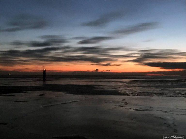 Tallinn 185- Fähre Sonnenuntergang