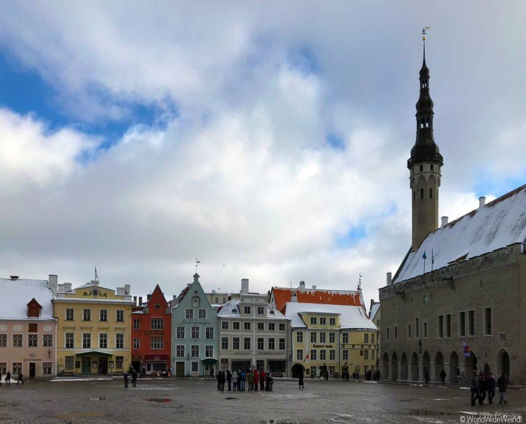 Tallinn 85- Rathaus