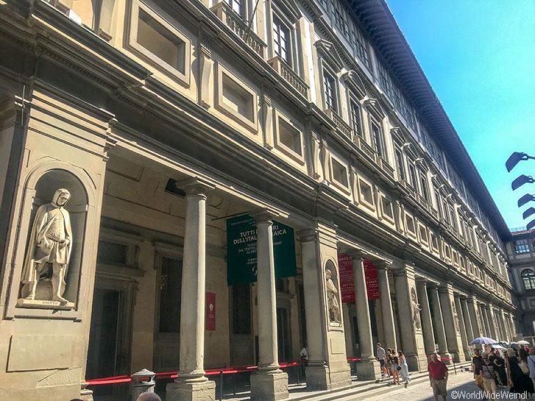 Toskana363-Florenz, Uffizien