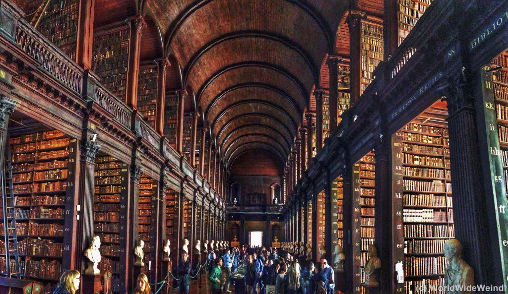Dublin,Trinity College- Long Room